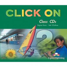 Диски Click On 2 Class Audio CDs