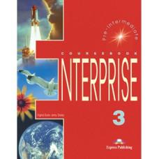 Учебник  Enterprise 3 Coursebook