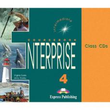 Диски Enterprise 4 Class Audio CDs