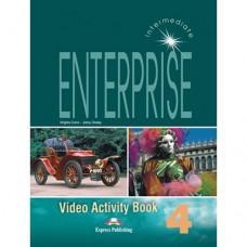 Рабочая тетрадь Enterprise 4 Video Activity Book
