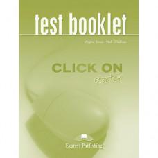 Тесты  Click On Starter Test Booklet