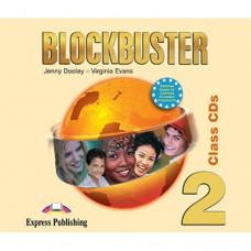 Диски Blockbuster 2 Class Audio CDs (Set of 4)