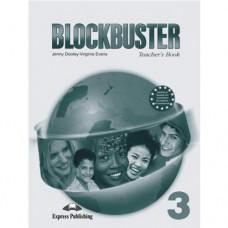 Книга для учителя Blockbuster 3 Teacher's Book