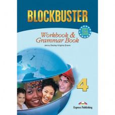 Рабочая тетрадь Blockbuster 4 Workbook & Grammar Book