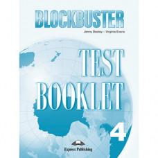 Тесты по английскому языку Blockbuster 4 Test Booklet