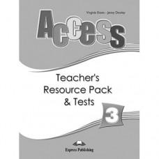 Книга для учителя Access 3 Teacher's Resource Pack