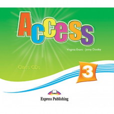 Диски Access 3 Class Audio CDs (Set of 4)