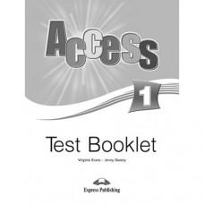 Тесты Access 1 Test Booklet