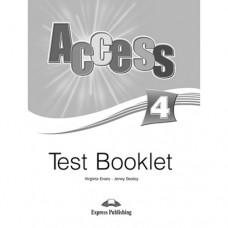 Тесты  Access 4 Test Booklet