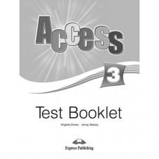Тесты  Access 3 Test Booklet