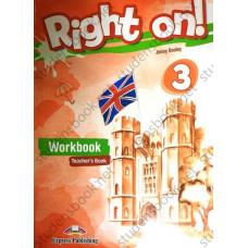Книга для учителя Right On! 3 Teacher's Workbook