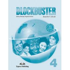 Книга для учителя Blockbuster 4 Teacher's Book