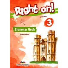 Учебник английского языка Right On! 3 Grammar Student's Book