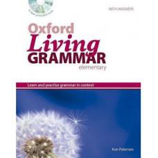 Грамматика английского языка Oxford Living Grammar Elementary Student's Book CD-ROM Pack