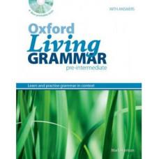 Грамматика английского языка Oxford Living Grammar Pre-Intermediate Student's Book CD-ROM Pack