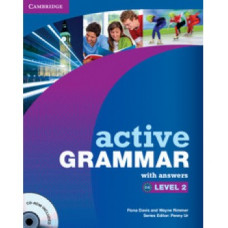 Грамматика Active Grammar Level 2 Book with answers and CD-ROM