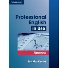 Учебник Professional English in Use Finance