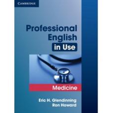 Учебник Professional English in Use Medicine
