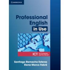 Учебник Professional English in Use ICT