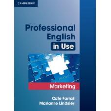 Учебник Professional English in Use Marketing
