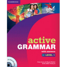 Грамматика Active Grammar Level 1 Book with answers and CD-ROM