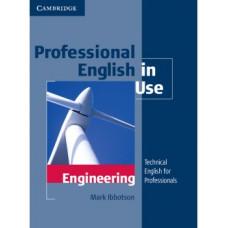 Учебник Professional English in Use Engineering