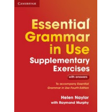Essential Grammar in Use 4th Edition Supplementary Exercises WITH answers