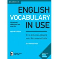 Vocabulary in Use Pre-intermediate and Intermediate with eBook