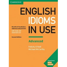 English Idioms in Use Second Edition Advanced with answers