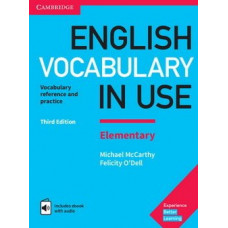English Vocabulary in Use Elementary with eBook