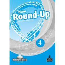 New Round-Up 4 Grammar Practice Teacher's Book + Audio CD