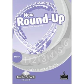 New Round-Up Grammar Practice Starter Level Teacher's Book + Audio CD
