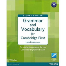 Grammar and Vocabulary for First Certificate Paperback with key
