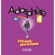 Диски Adosphère : Niveau 4 (B1) CD audio classe (x2)