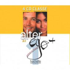 Диски Alter Ego + : Niveau 1 CD audio classe (x4)