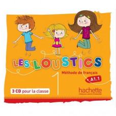 Диски Les Loustics : Niveau 1 CD audio classe (x3)