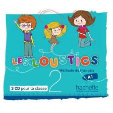 Диски Les Loustics : Niveau 2 CD audio classe (x3)