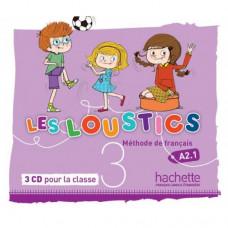 Диски Les Loustics : Niveau 3 CD audio classe (x3)