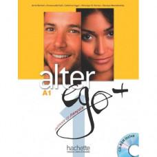 Учебник Alter Ego + : Niveau 1 Livre de l'élève + DVD-ROM
