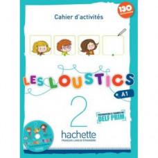 Рабочая тетрадь Les Loustics : Niveau 2 Cahier d'activités + CD audio