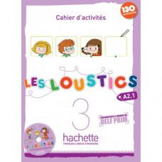 Рабочая тетрадь Les Loustics : Niveau 3 Cahier d'activités + CD audio
