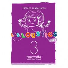 Ресурсы для учителя Les Loustics : Niveau 3 Fichier ressources