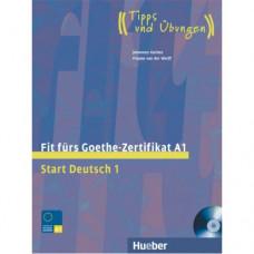 Тесты Fit für Goethe-Zertifikat A1 Lehrbuch mit integrierter CD