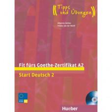 Тесты Fit für Goethe-Zertifikat A2 Lehrbuch mit integrierter CD