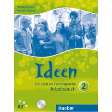 Рабочая тетрадь Ideen 2 Arbeitsbuch mit Audio-CDs zum Arbeitsbuch