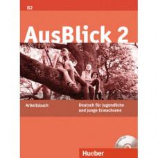 Рабочая тетрадь AusBlick 2 Arbeitsbuch mit CD