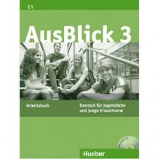 Рабочая тетрадь AusBlick 3 Arbeitsbuch mit CD