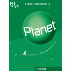 Книга для учителя Planet 3 Lehrerhandbuch
