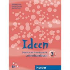 Книга для учителя Ideen 3 Lehrerhandbuch