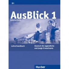 Книга для учителя AusBlick 1 Lehrerhandbuch